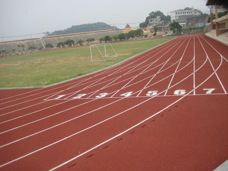 九江外语学院塑胶跑道