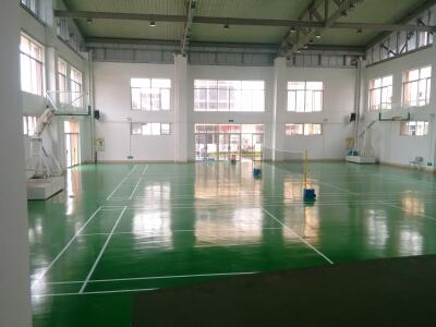 凤鸣小学体育馆硅PU球场