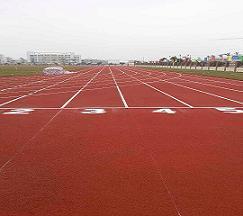 广东茂名第五中学透气型塑胶跑道