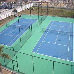 虎门市威远俱乐部PU羽毛球场