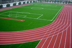 江西省赣州市龙南县龙州小学塑胶跑道
