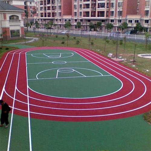 安徽淮南理工大学透气型塑胶跑道