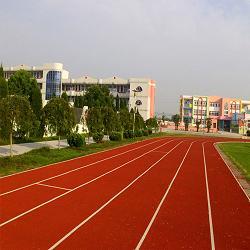 贵族黔东南州民族高级中学透气型塑胶跑道