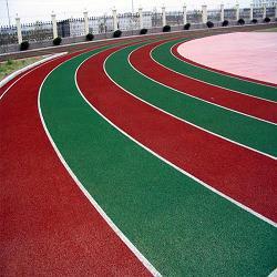 河南商丘附属医院透气型塑胶跑道