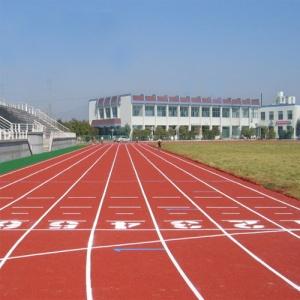 贵州六盘水盘县中学混合型塑胶跑道