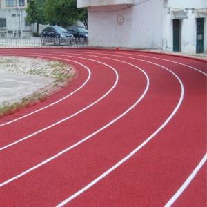 深圳市光明中英文书院透气型塑胶跑道