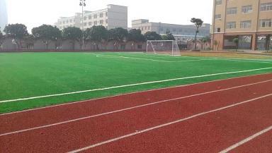 东莞坑镇东晋实验学校透气型跑道